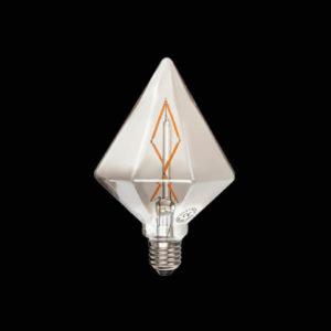 لامپ فیلامنتی بالب لندن مدل DIAMOND LARGE GRAY 6W