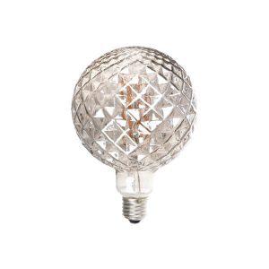 لامپ فیلامنتی بالب لندن مدل X-LARGE GLOBE CRYSTAL VERTICAL 8W GRAY