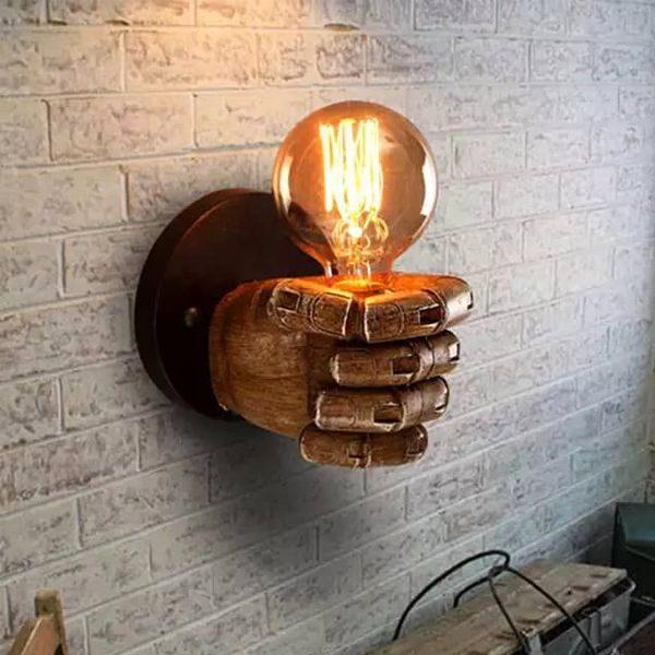 چراغ دیواری بالب لندن مدل FIST WALLMOUNT