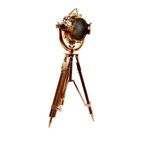 چراغ سه پایه دکوراتیو بالب لندن مدل LARGE TRIPOD ROSEGOLD