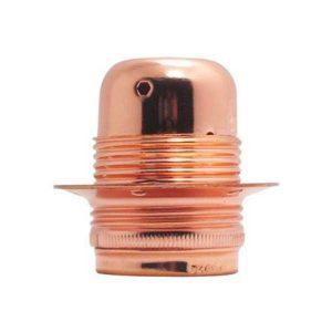 سرپیچ لامپ بالب لندن مدل LAMP HOLDER ALUMINIUM RING