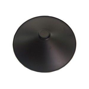 سایبان فلزی دکوراتیو بالب لندن مدل BLACK SHADE