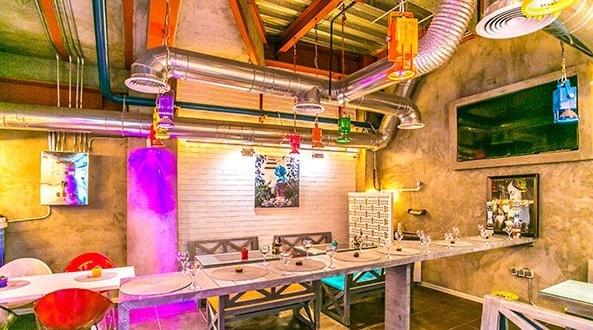 پروژه روشنایی کافه رستوران بوتیک فود