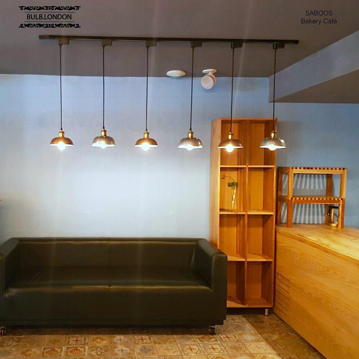 پروژه نورپردازی کافه سبوس