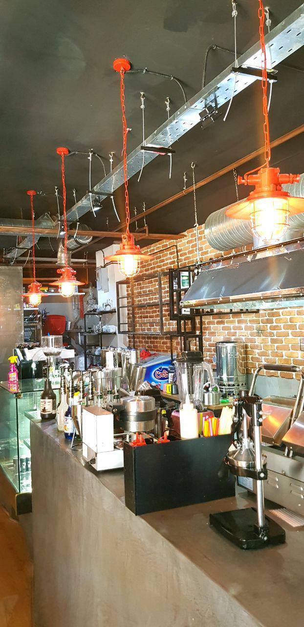 پروژه نورپردازی کافه رستوران
