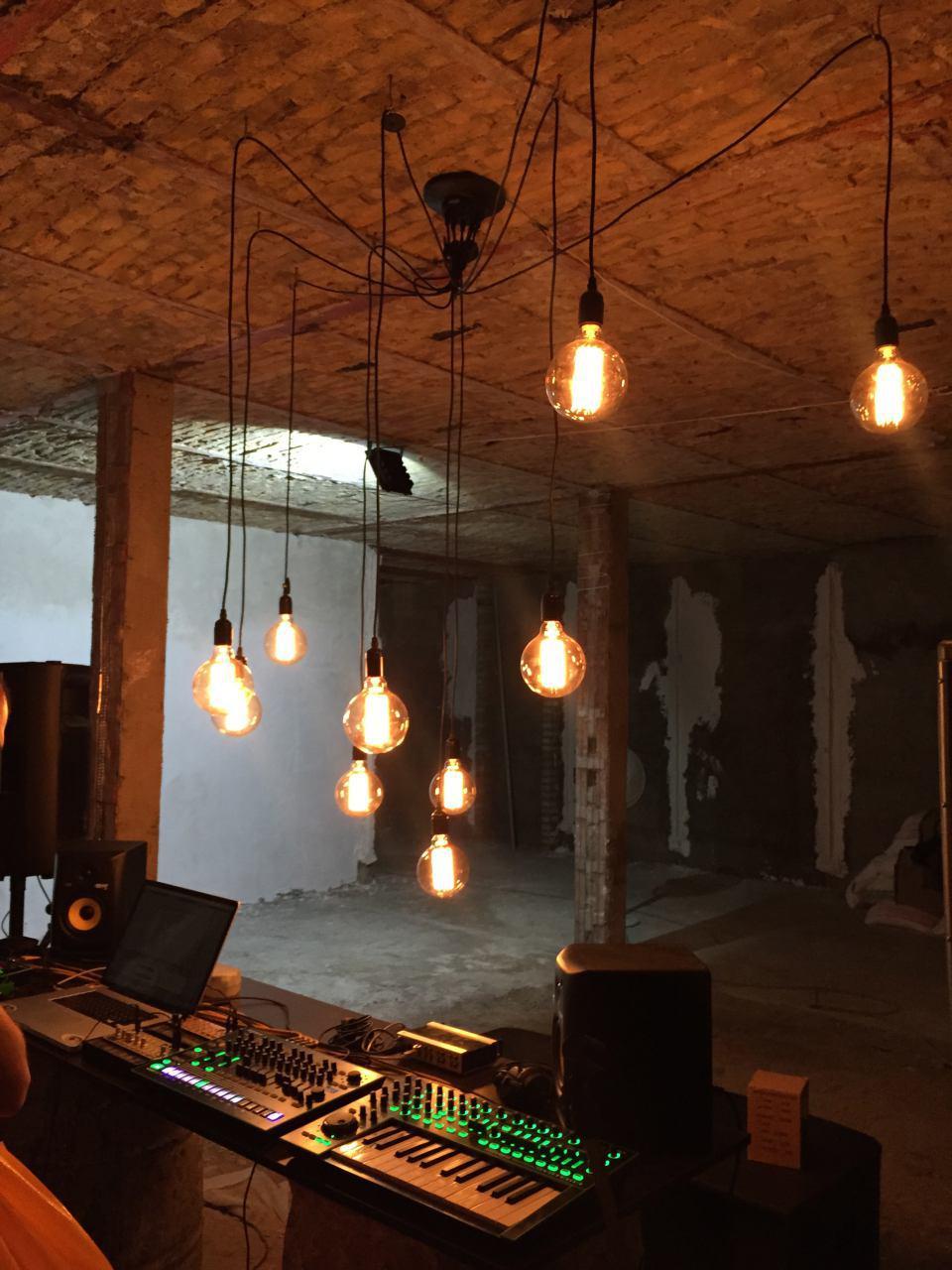 پروژه نورپردازی گالری SALES