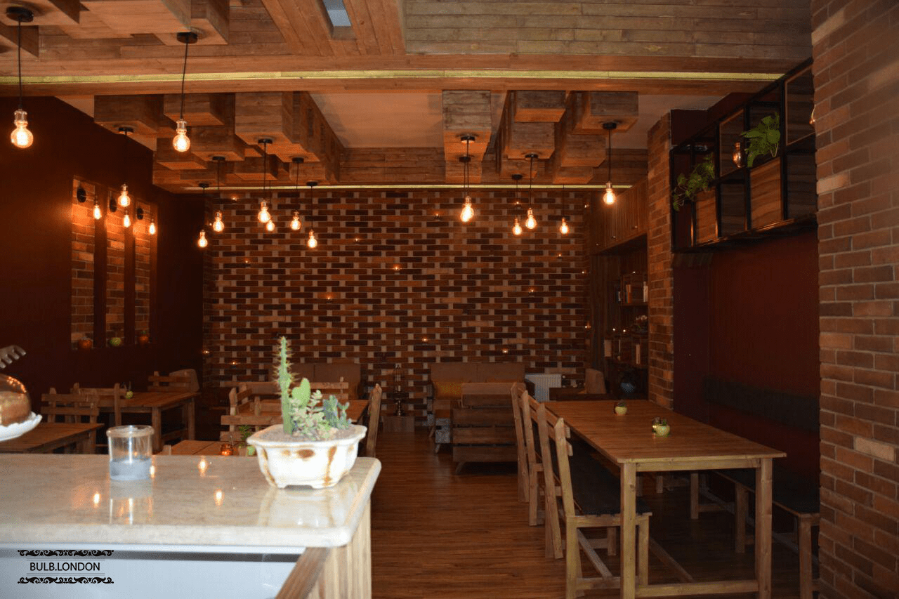 پروژه نورپردازی کافه ایران در اراک
