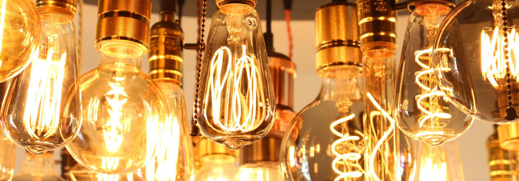 انواع لامپ های ادیسونی دکوراتیو